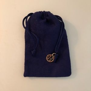 Authentic Tory Burch Jewelry Bag